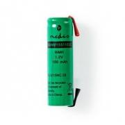 NiMH Baterie | 1,2 V | 1 100 mAh | Pájecí Konektor