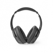 Over-Ear Bluetooth Headphones | 24 Hours Playtime | 25 dB Noise Cancelling | Fast Charging | Black