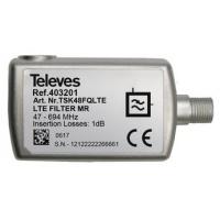 Filtr LTE TELEVES  47-694 MHz, 5G, F-konektor