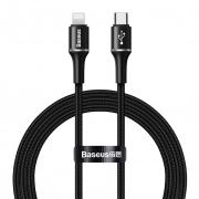 Baseus Halo Data Cable USB-C to iPhone Lightning PD 18W 1m Black