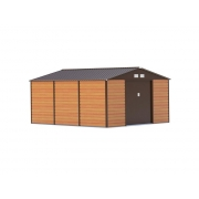 Zahradní domek G21 GAH 1300 340 x 383 cm BROWN