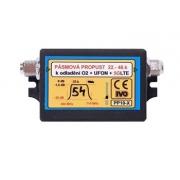 IVO PP10-X Propust pásmová 22-48k., odladění O2 + UFON + 5G LTE