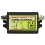 IVO PP08-X Propust pásmová 22-60k., odladění O2 + UFON + LTE