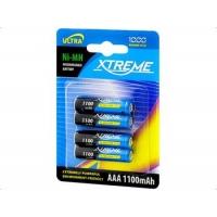 XTREME Baterie R3 Ni-MH  AAA 1100mAh dobíjecí, blistr 4ks