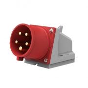 Solight přívodka nástěnná, 5-pólová, 400v/32A, IP44