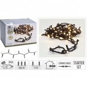 CONNECTABLE CHRISTMAS LIGHTS | STARTER SET | 100 LED | WARM WHITE | 230 V