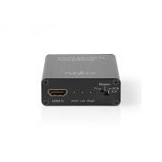 Převodník 1x HDMI - 1x Jack 3,5mm + Toslink NEDIS VEXT3470AT