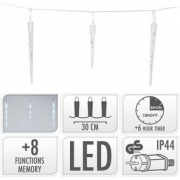 ICICLE LIGHTING | 72 LED | 6.9 METER LIGHTING | WHITE