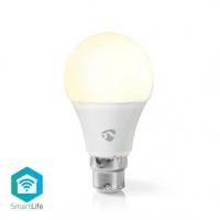 SmartLife LED Bulb | Wi-Fi | B22 | 800 lm | 9 W | Teplá Bílá | 2700 K | Energetická třída: A+ | Android™ & iOS | A60