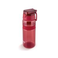 Láhev na vodu LAMART LT4060 červená straw.