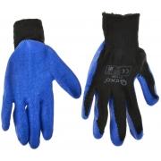 Pracovní zimní rukavice vel. 9 modré GEKO