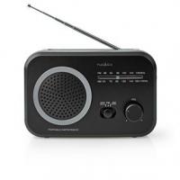 FM rádio   Přenosné Provedení   AM / FM   Napájení z baterie / Síťové napájení   Analogový   1.8 W   Černo-bílý displej   Výstup