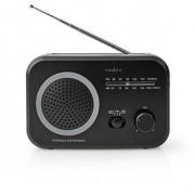 FM / AM Rádio | 1,8 W | Kapesní | Černé