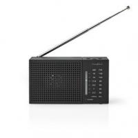 FM rádio   Přenosné Provedení   AM / FM   Napájení z baterie   Analogový   1.5 W   Černo-bílý displej   Výstup pro sluchátka   Č