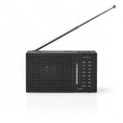 FM / AM Rádio | 1,5 W | Kapesní | Černé