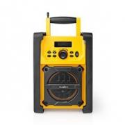 Pracovní FM Rádio | 15 W | Bluetooth® | IPX5 | Rukojeť na přenášení | Žluté / Černé