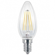 LED Vintage Filament Lamp Candle E14 6 W 806 lm 2700 K