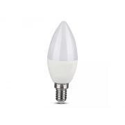 Chytrá WiFi žárovka LED E14 5W RGB 3v1 V-TAC VT-5114