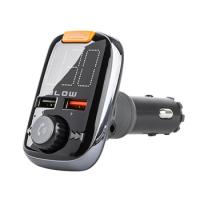 BLOW FM Transmitter do auta + HandsFree BLUETOOTH + USB nabíječka QC 3.0