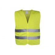 Reflexní výstražná vesta žlutá XXL EN 20471:2013 + A1:2016 COMPASS 01509