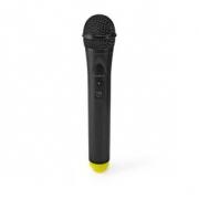 Bezdrátový Mikrofon | 1 Kanály | 1 Mikrofon | Doba Provozu 5 Hodin | Přijímač | Černý