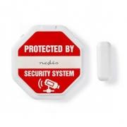Tenký Dveřní/Okenní alarm s magnetickým senzorem | baterie jsou součástí balení | nevyžaduje nástroje