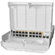 MikroTik Cloud Router Switch CRS318-16P-2S+OUT - netPower 16P