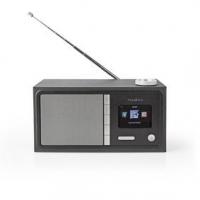 """Internetové Rádio   Stolní Provedení   Bluetooth® / Wi-Fi   FM / Internet   2.4 """"   Barevná obrazovka   18 W   Dálkově ovládané"""