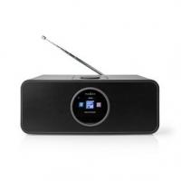 """Internetové Rádio   Stolní Provedení   Bluetooth® / Wi-Fi   FM / Internet   2.4 """"   Barevná obrazovka   42 W   Dálkově ovládané"""