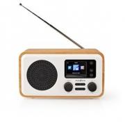 Internetové Rádio | DAB+ / FM / Bluetooth® | Dálková Ovládání | Bílá / Dřevo