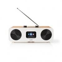 """Internetové Rádio   Stolní Provedení   Bluetooth® / Wi-Fi   DAB+ / FM / Internet   2.4 """"   Barevná obrazovka   34 W   Dálkově ov"""