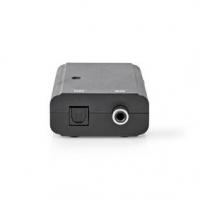 Digitální Audio Převodník   1cestný   Vstupní konektor: 1x S / PDIF   Výstupní konektor: Toslink Zásuvka   Manuální   Černá