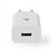 Síťová Nabíječka | 2,4 A | 1 výstup | USB-A | Bílá