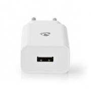 Síťová Nabíječka | 2,1 A | Volný kabel | Mikro USB | Bílá