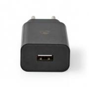 Síťová Nabíječka | 2,1 A | Volný kabel | Mikro USB | Černá