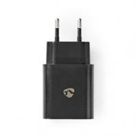 Síťová Nabíječka   1x 3.0 A   Počet výstupů: 1   USB-A   Kabel Není Součástí   18 W   Automatická Volba Napětí