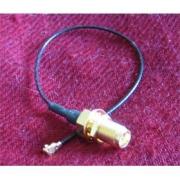 Pigtail u.Fl (IPEX) - RSMA female pigtail kabel, 15cm