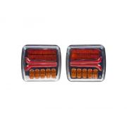 Dynamické blinkry LED STU zadní 2 světla
