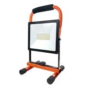 LED reflektor přenosný SOLIGHT WM-50W-FEM PRO 50W se sklopným stojanem