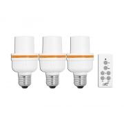 Dálkově ovládaná žárovka LTC LXU203 3+1