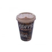 Pohár na kávu ORION COFFEE s víčkem 450ml