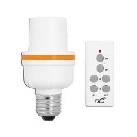 Dálkově ovládaná patice žárovky LTC LXU202 1+1