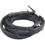 Hořák TIG, 10-25, 4m kabel, 5,5m hadice EXTOL PREMIUM