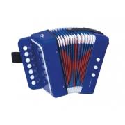 Dětská tahací harmonika TEDDIES 19 cm