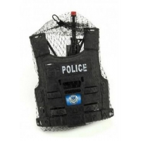 Dětská policejní sada TEDDIES s příslušenstvím