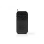 Rádio NEDIS RDFM1110SI BLACK/SILVER