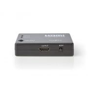Převodník HDMI - 3x HDMI NEDIS VSWI3453BK