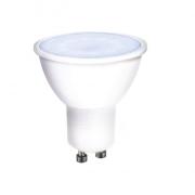 Solight LED žárovka, bodová , 7W, GU10, 6000K, 560lm, bílá
