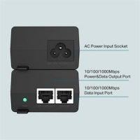 TP-Link TL-POE160S Gigabitový PoE injektor, 802.3af/at, 30W