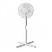 Stojanový Ventilátor | Průměr: 40 cm | 3-Rychlostní | Rotace | 40 W | Nastavitelná výška | Časovač vypnutí | Dálkové ovládání |